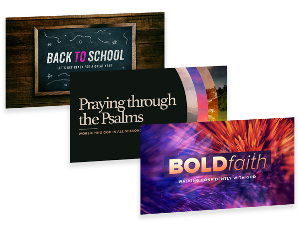 Sermon and Announcement Templates